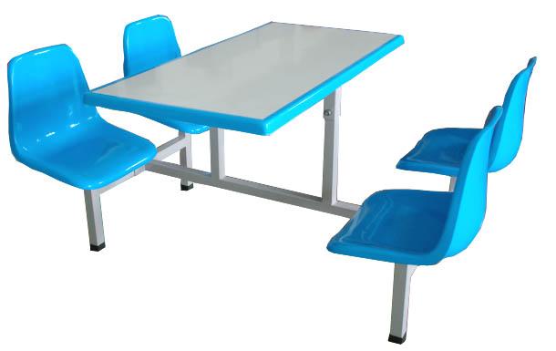 四人玻璃钢餐桌椅 MSD-CZ01