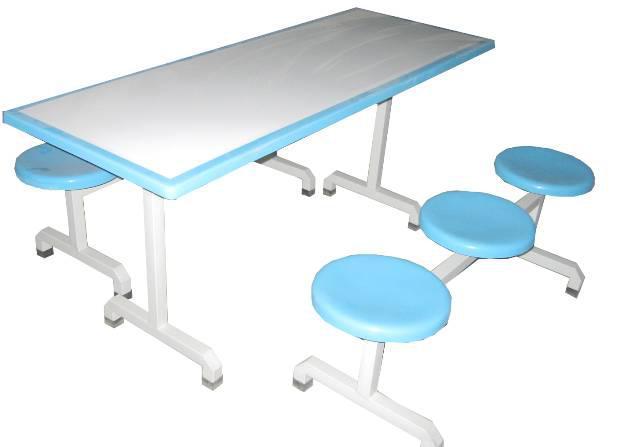 六人分体玻璃钢餐桌椅MSD-CZ06