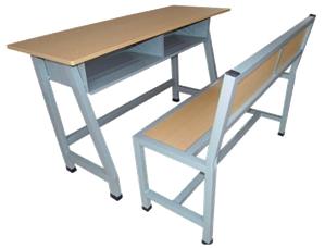 双人课桌椅 MSD-KZY-S01