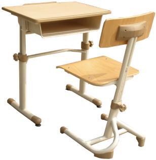 单人课桌椅 MSD-KZY-D02